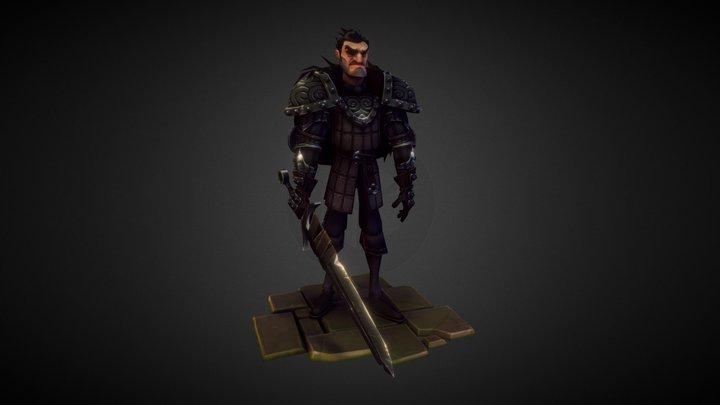 Sellsword Dark 3D Model