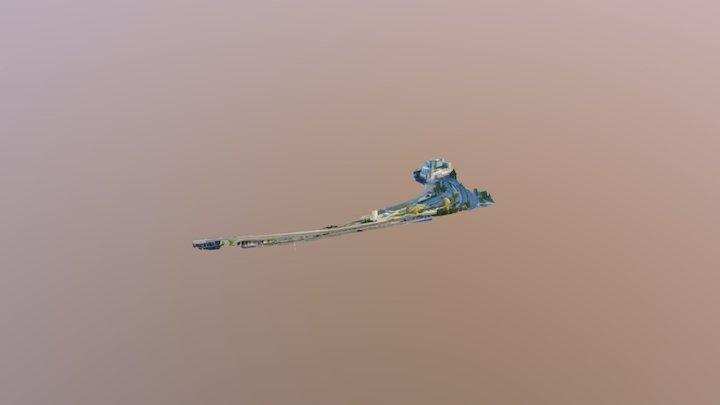 Caleta Abarca Viña del Mar 3D Model