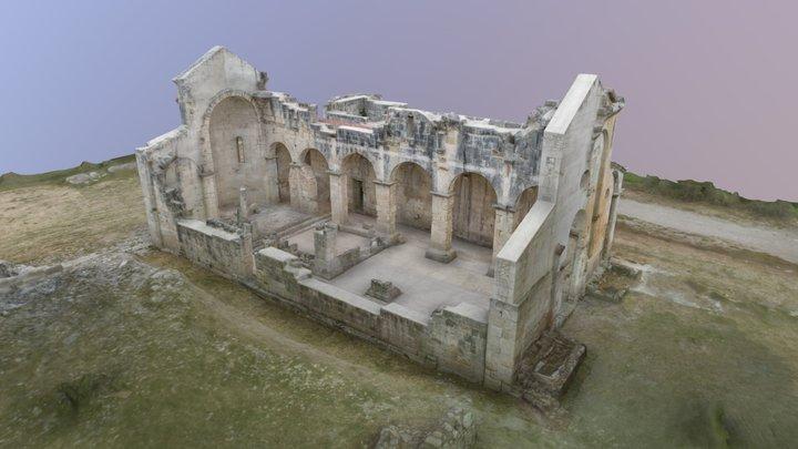 Medieval church Italy 3D Model