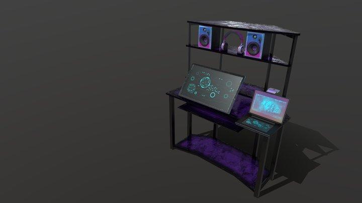 Sallee 6 Props 3D Model