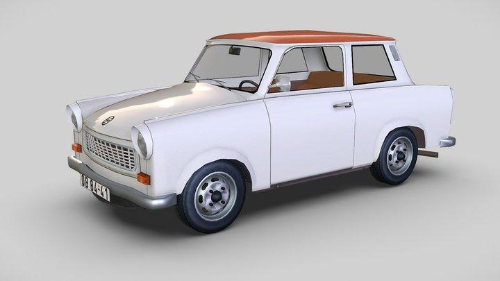 Trabant 601, 1980 3D Model