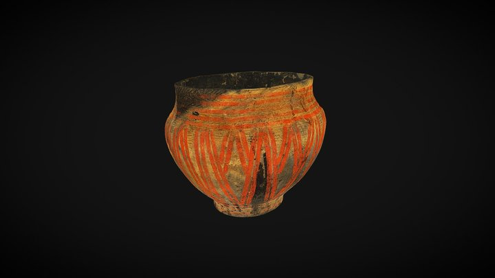 Pottery, bronze age, mound 3D Model