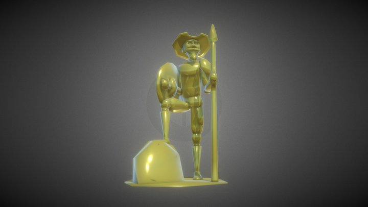 Don Quijote 3D Model