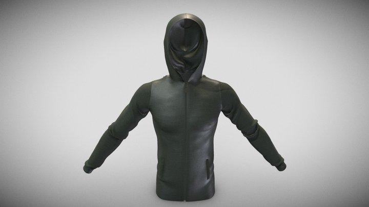 Hoodie v2 3D Model