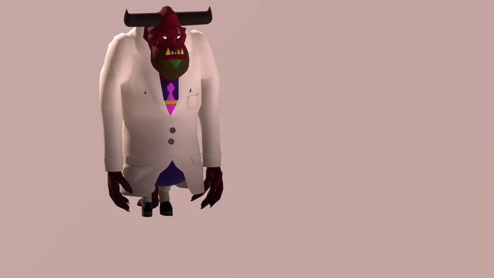 Coorporate Hell - Boss 3D Model