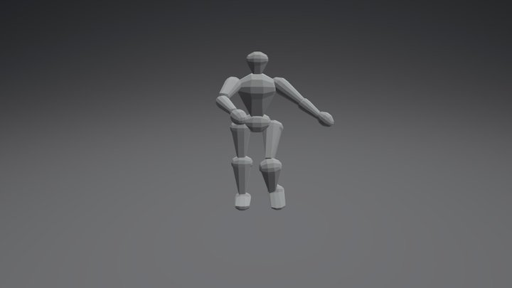 generic robot (base model) 3D Model