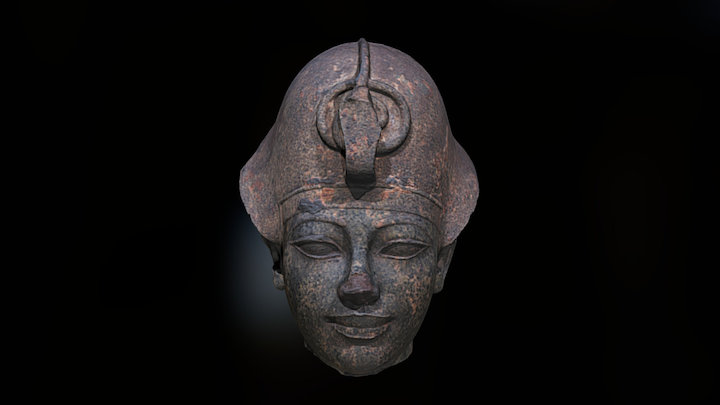 1952.513 Head of Amenhotep III 3D Model