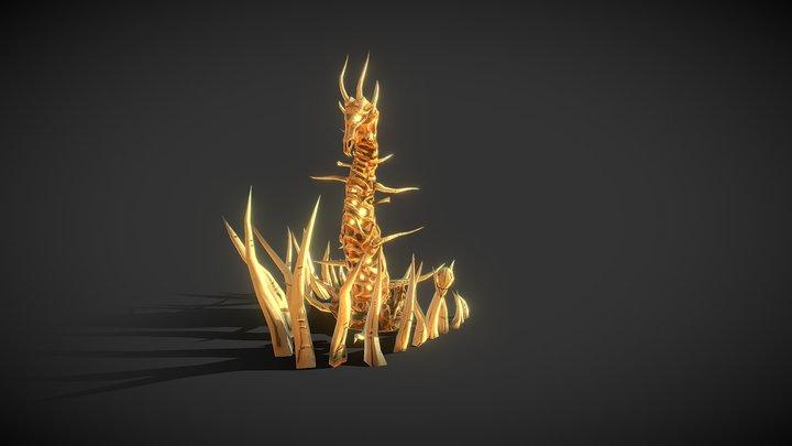 Desert Tower 3D Model