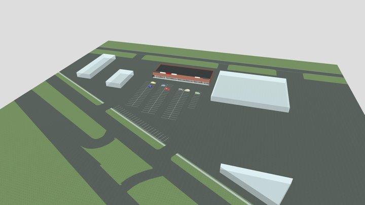 Liberty Center As Built 3D Model