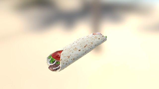 30Days3D - Day 1 - Doner Kebab 3D Model