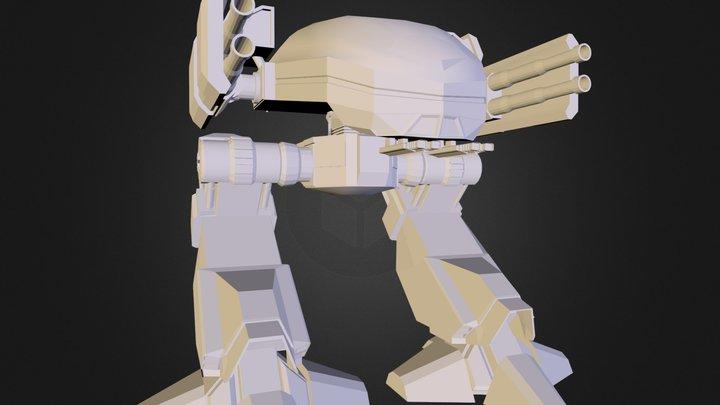 Ed-209 Remake 3D Model