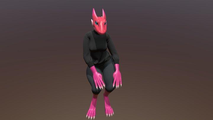 Sweater Kobold 3D Model