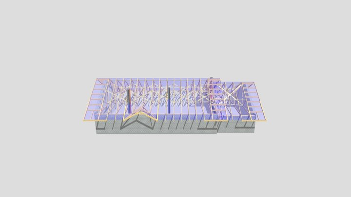 Jeczniki Wielkie 3D Model