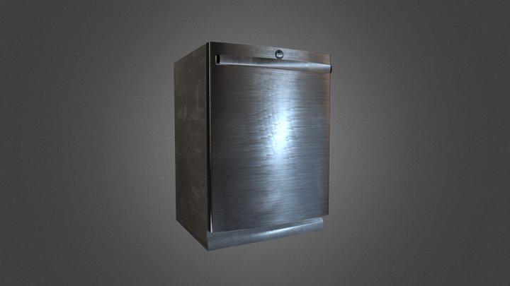 Dishwasher Bake 01 3D Model