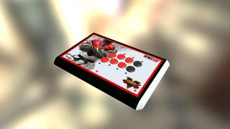 Mad Catz TE Custom Arcade Srick 3D Model