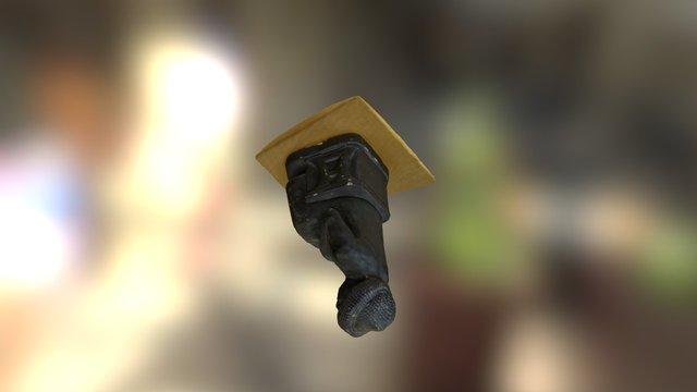 Gudea statue (medium res) 3D Model