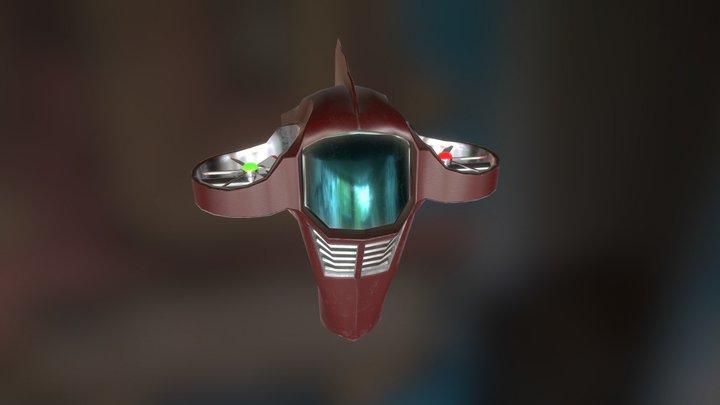 Skybike 3D Model