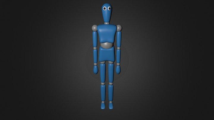 Scotty (Blender) 3D Model