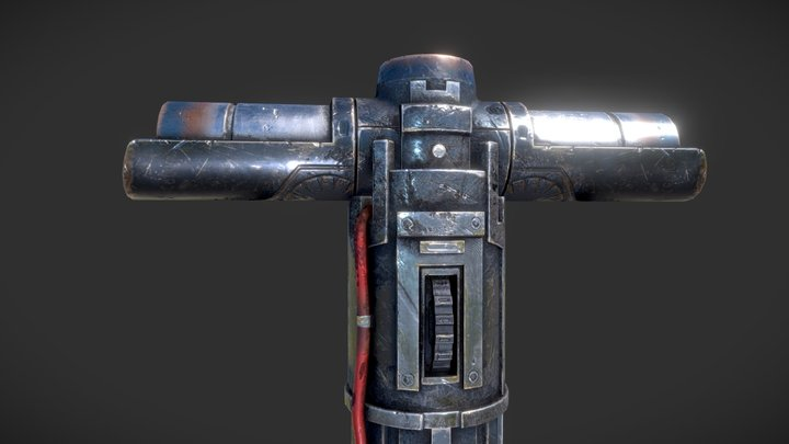 lightsaber(PBR) 3D Model