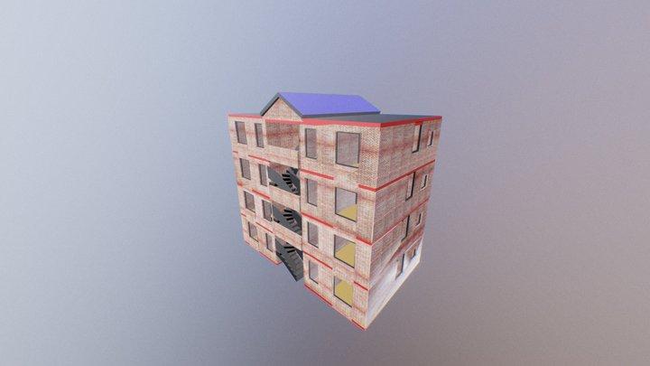 TORRES TIBERIO 6 De Ancho 3D Model