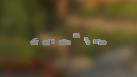 Piezas Tetris 3D Model