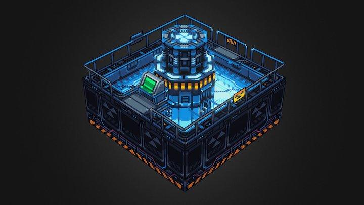 Starmancer: Reactor 3D Model