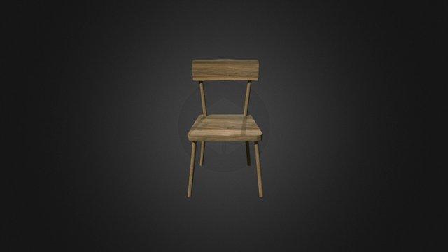 Chair Horror04 3D Model