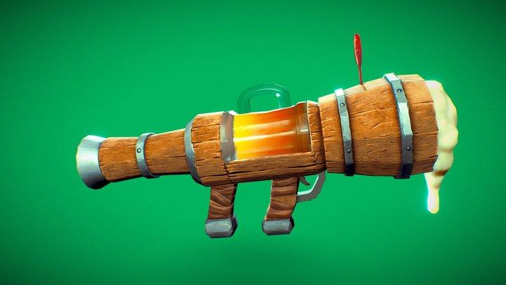 Beerzooka 3D Model