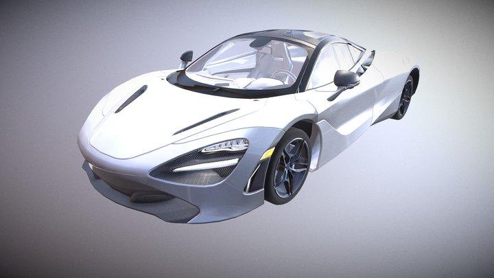 Unlock Super Sports Car 03 3D Model