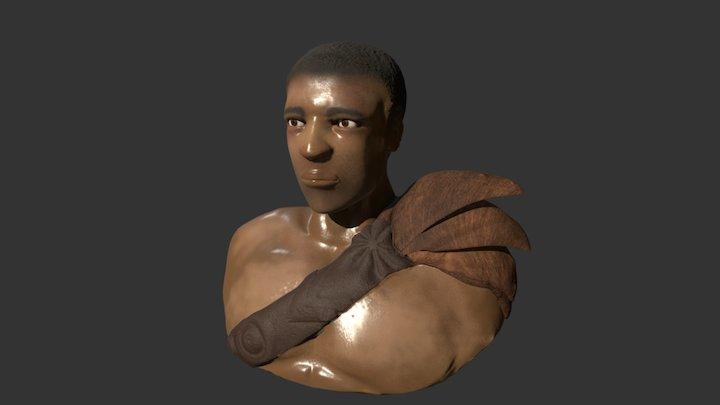 Donald Glover 3D Model