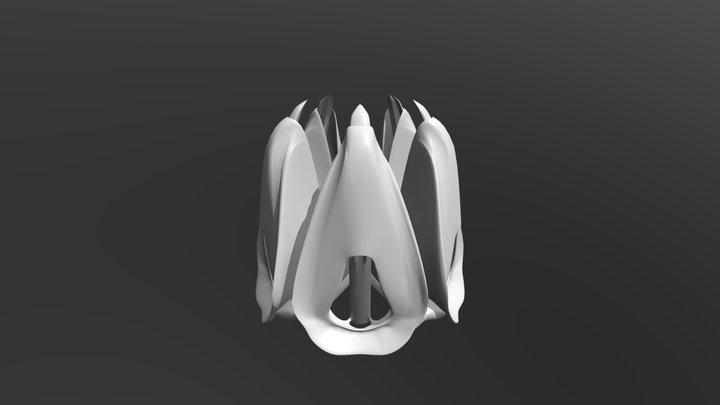 アリストテレスのランタン(開) / Aristotle's lantern(open) 3D Model