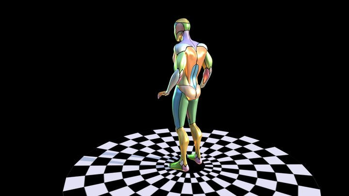 Generalized Human Body 3D Model