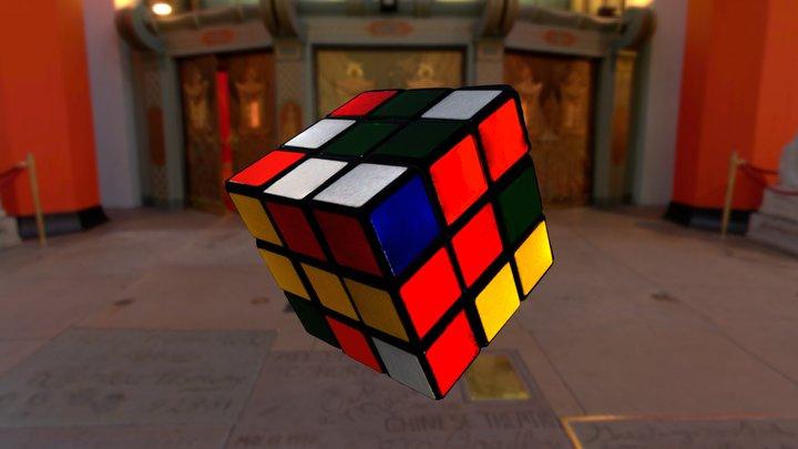 Wuerfel  //  Zauberwürfel  //  Rubik's Cube 3D Model