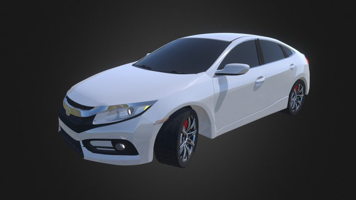 Honda civic 3D Model