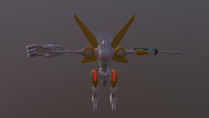 Power Tool Dragon 3D Model