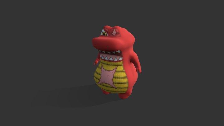 Bujang Senang (Boss) - Attack 1.0 3D Model