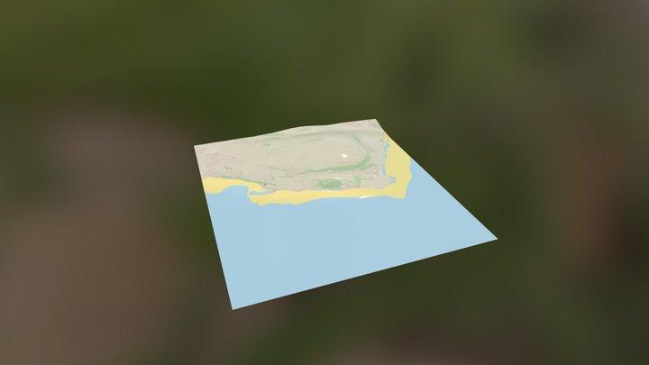 Red Wharf Bay 3D Model