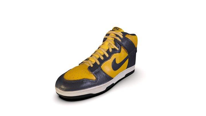 Shoe 28 - 1985 - Nike Dunk - 34542 3D Model