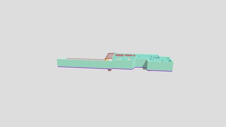 Mikve-7 - 3D View - {3D} 3D Model