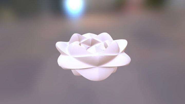 Flowery Torus 3D Model