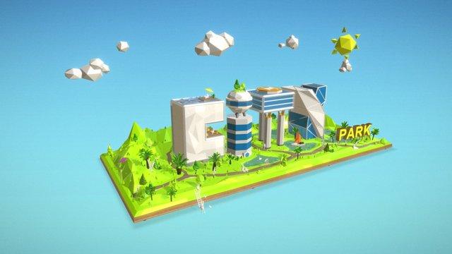 City Park 3D Model