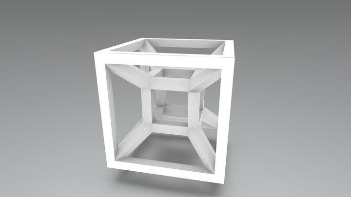 tesseract 3D Model