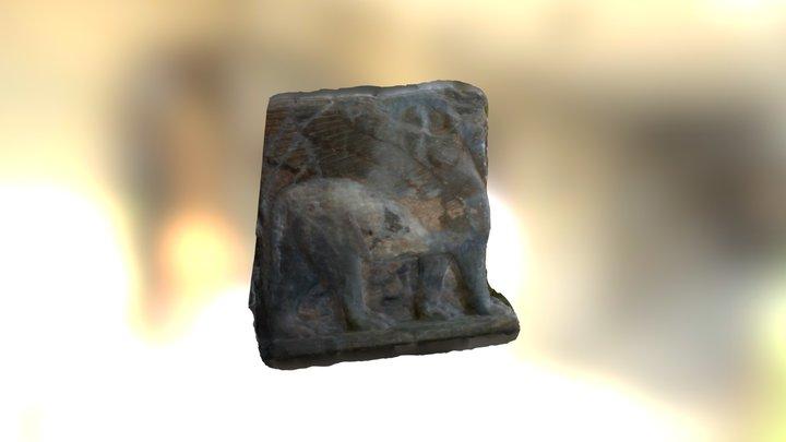 Lamassu Left 3D Model