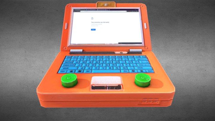 Laptoys Lowpoly 3D Model