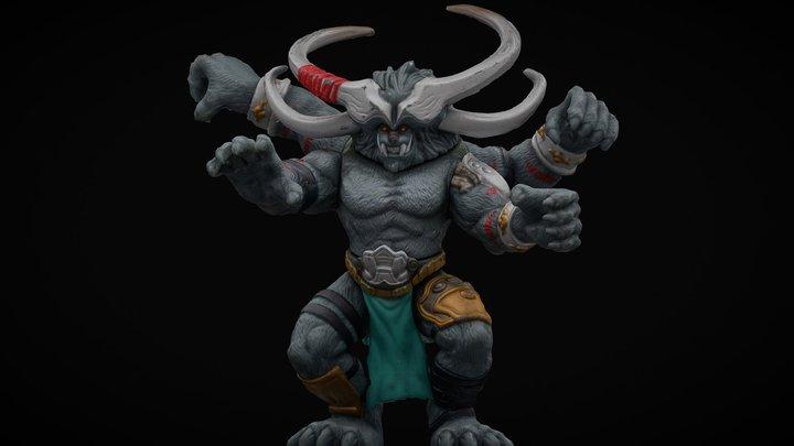 Dual Fang Fighter, Duel Masters. #RCToyChallenge 3D Model