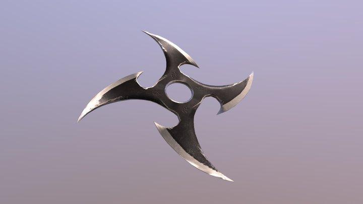 Shuriken 1 - weapon 3D Model