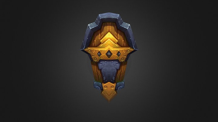 Common shield 3D Model