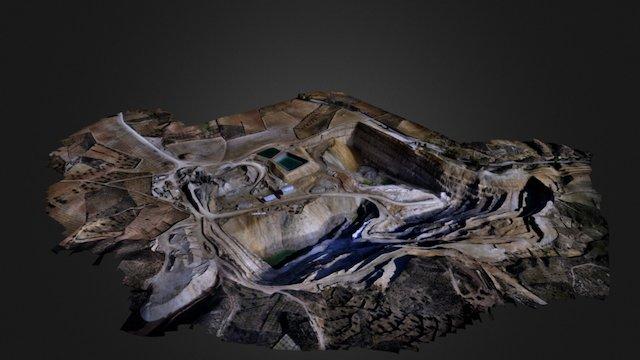 Cantera Marylin 3D Model