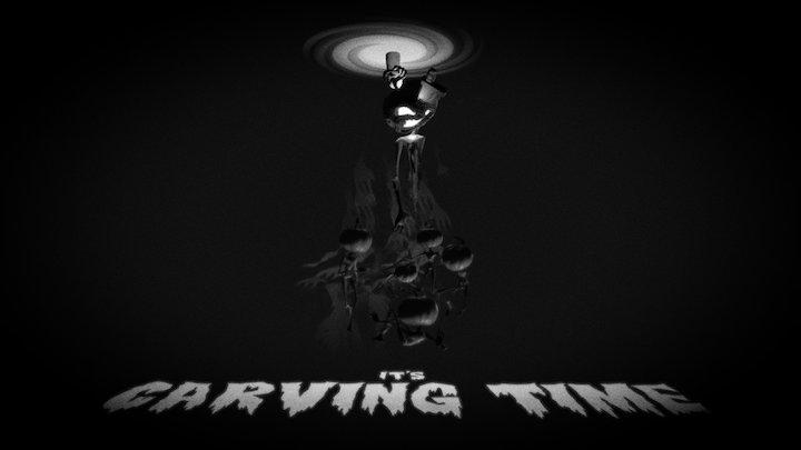 """""""It's Carving Time"""" - PumpkinCarvingChallenge 3D Model"""