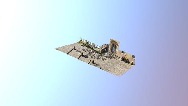 Place du Pont Saint-Marcel, Metz 3D Model